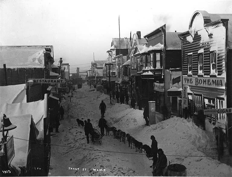 Winter 1915 in Nome.