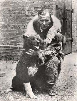 Balto with Gunnar Kaasen.