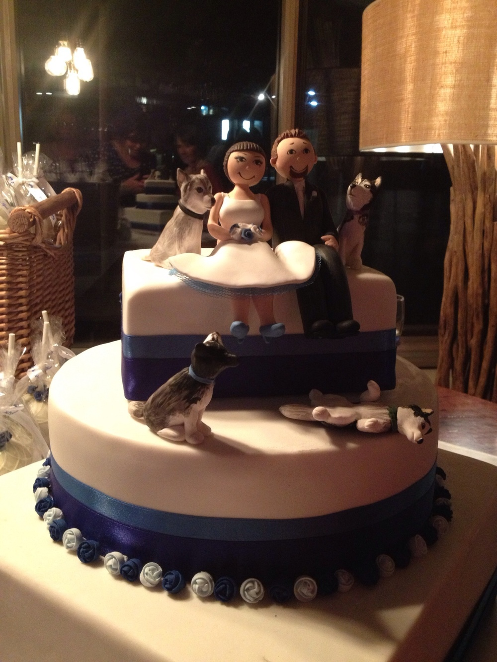 Thankyou NLJ cakes and Mia's Cake Toppers for our beautiful yummy cake.