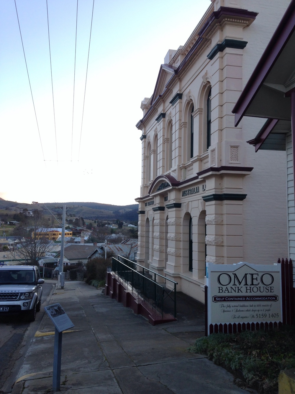 Omeo at sunset.