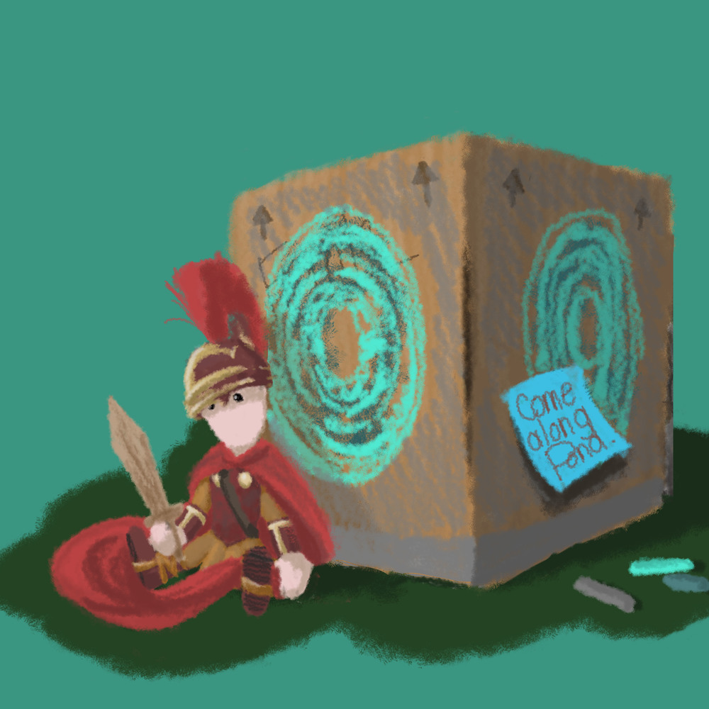 Pandorable Digital Illustration