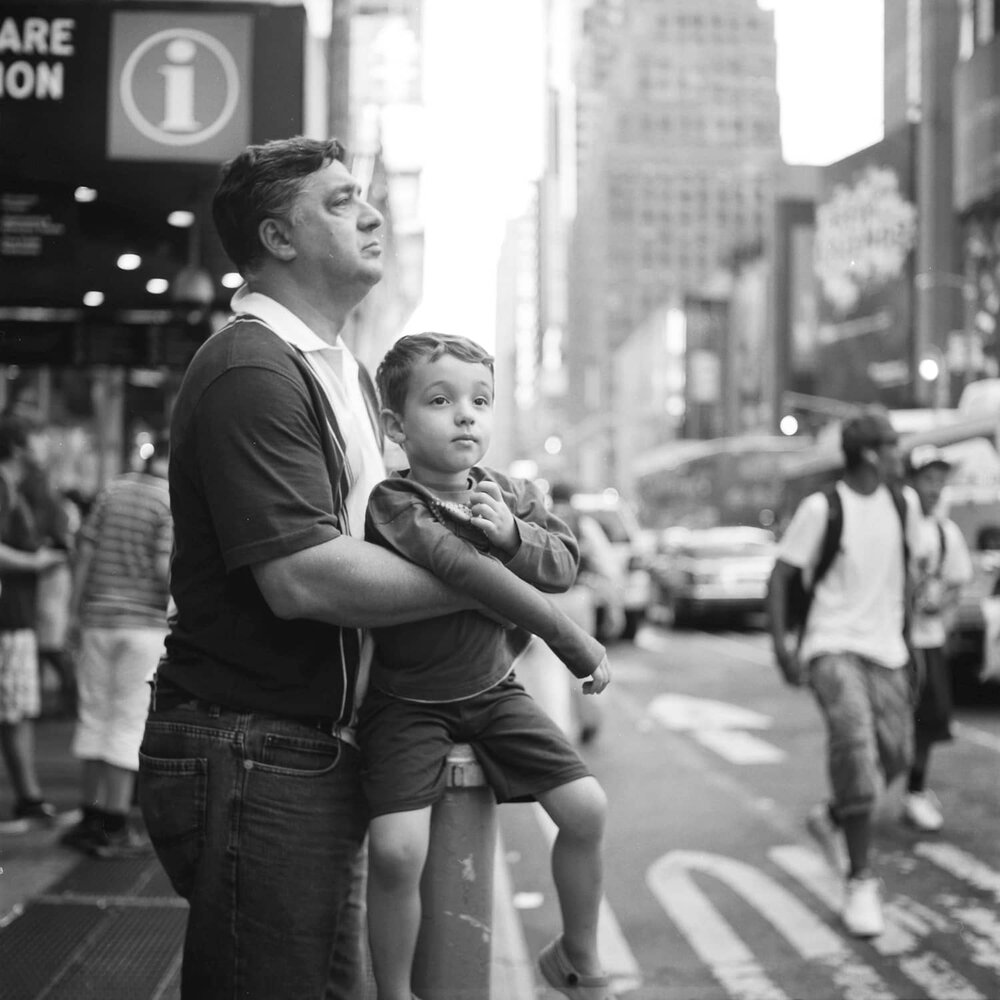times sq tourists