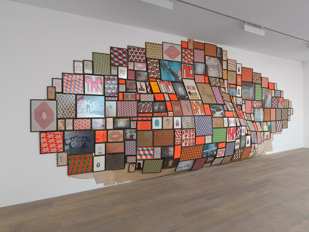 Barry McGee, Untitled Installation, 2008 as installed in the ABC lobby