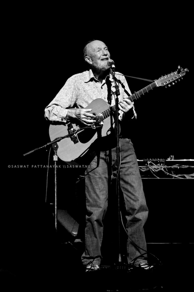 Pete Seeger by Saswat Pattanayak