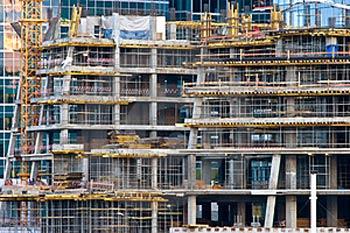 image of skyscraper being built