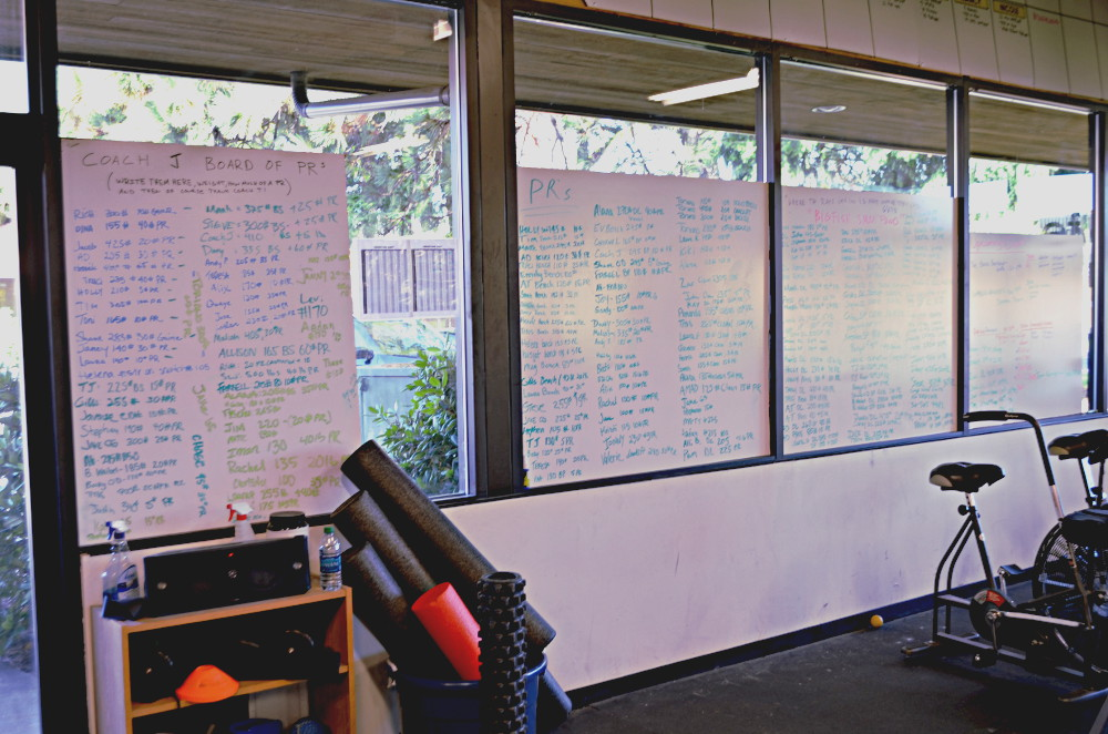 We ran out of room for all the PRs on the whiteboard after the 2013 REBUILD phase