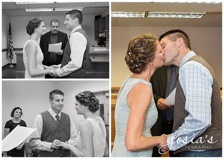 Gosias Photography Appleton Wedding Photographer Courthouse Ceremony Reception