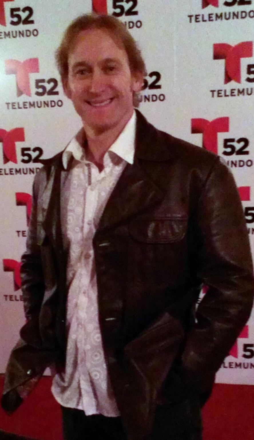Candid Moment at 2013 Telemundo Awards