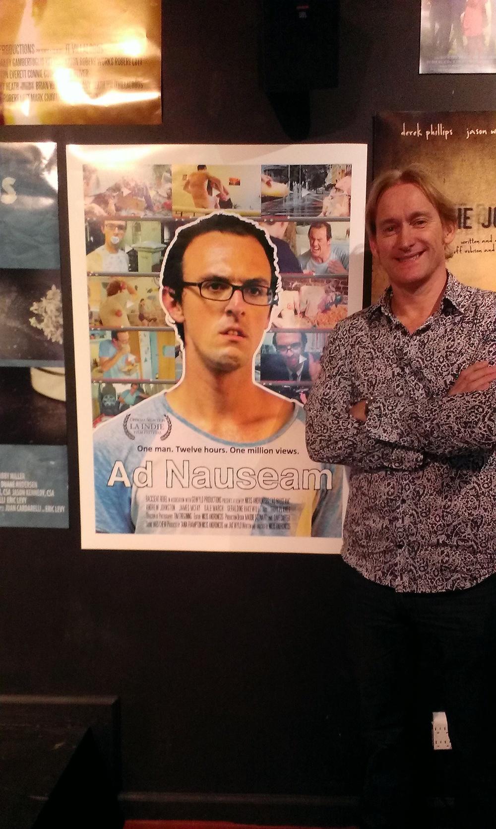 Ad Nauseam at the LA Indie Film Fest Mar 2013