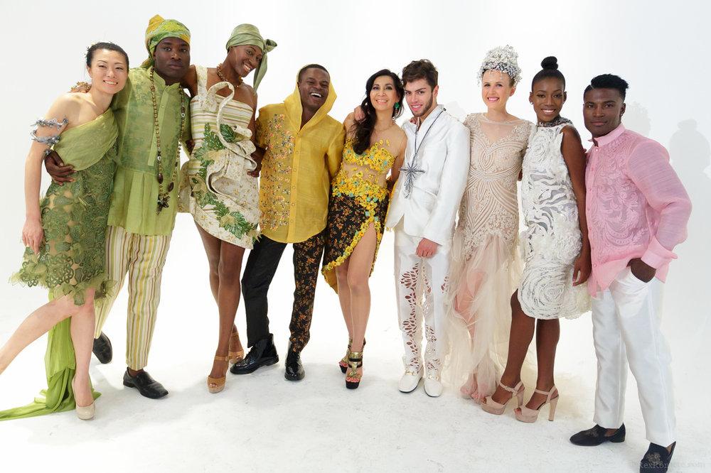Brooklyn Fashion Week with designer Joyce Pilarsky.