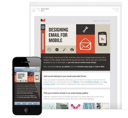 templates geschikt voor tablets en smartphones