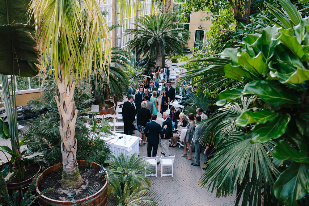 Wedding Sion and Karen - Hortus Botanicus Amsterdam