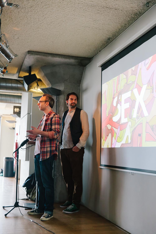 Creative Mornings Amsterdam Sex