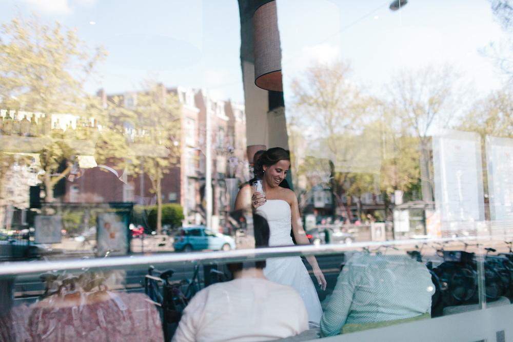 Bruiloft Dennis en Lieve - Amsterdam - fotografie On a hazy morn