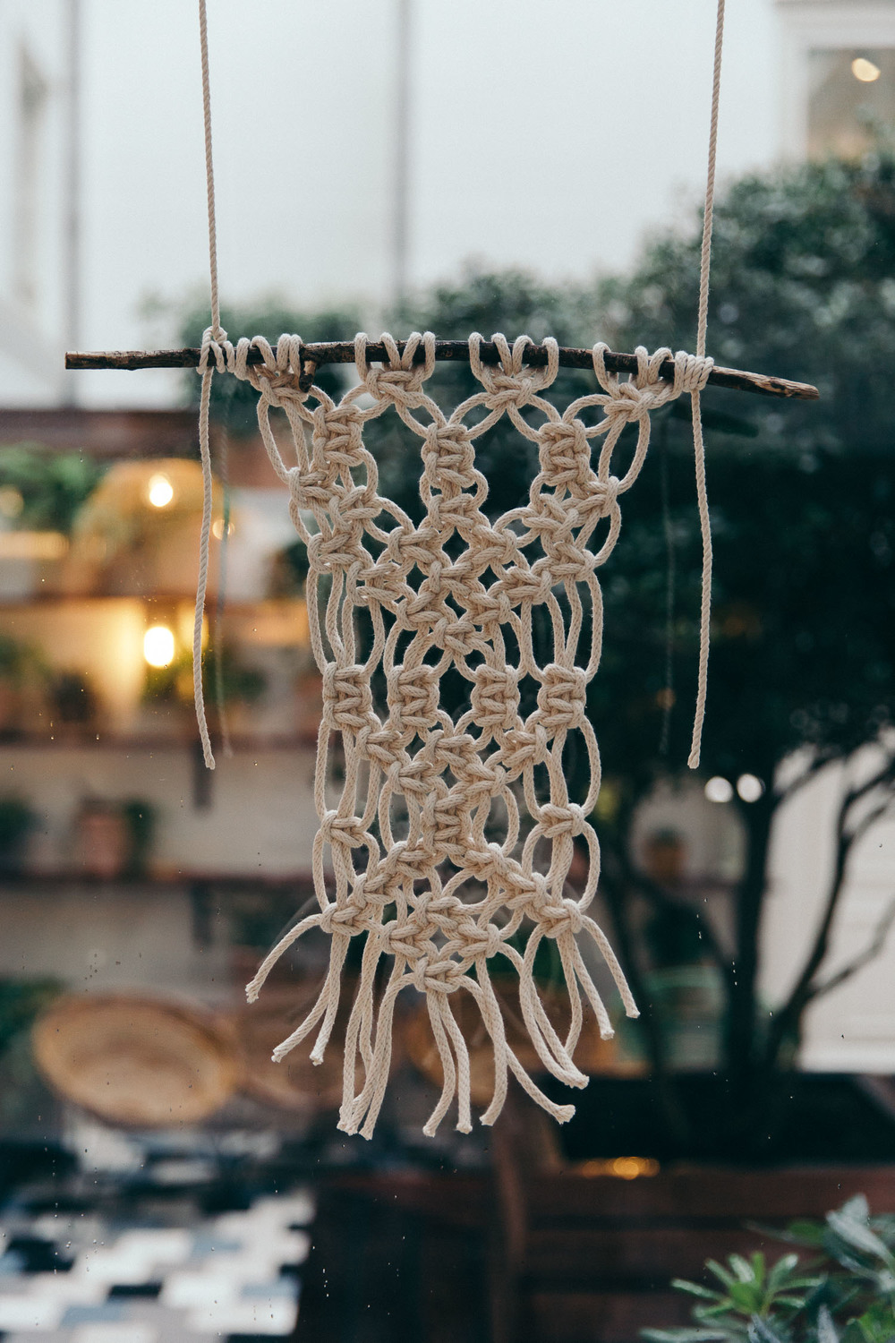 Macrame workshop Emily Katz at The Hoxton Amsterdam