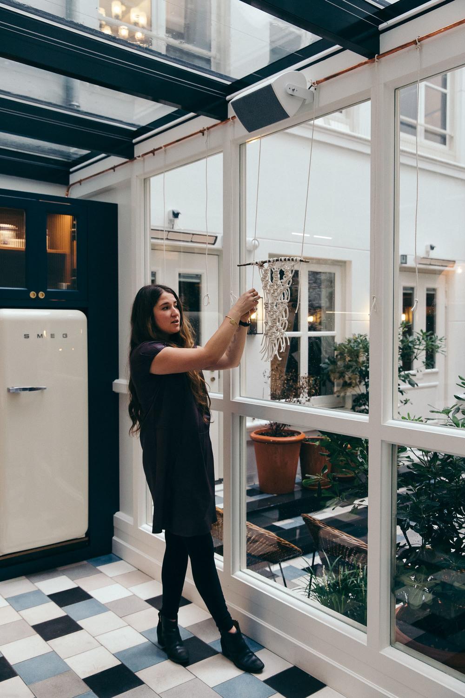 Macrame workshop Emily Katz at The Hoxton Amsterdam