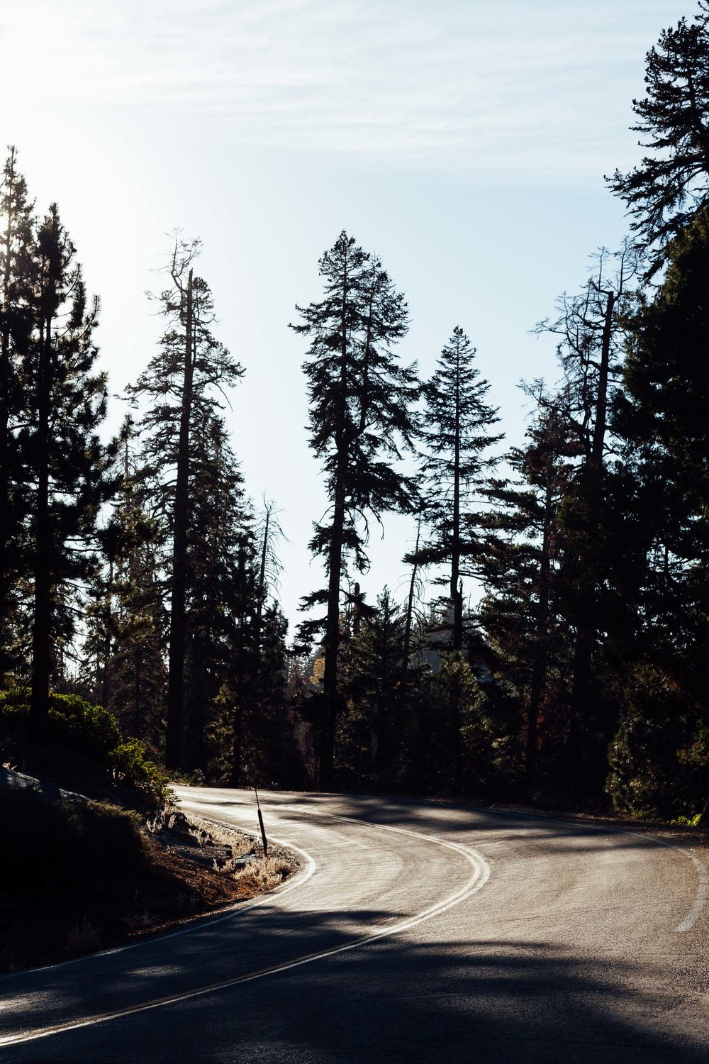 California fall road trip