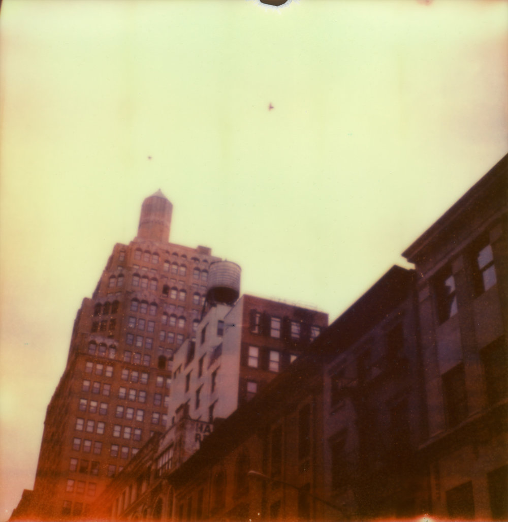 New York Polaroids by On a hazy morning Amsterdam