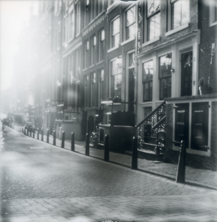 Polaroids on a hazy morning Amsterdam