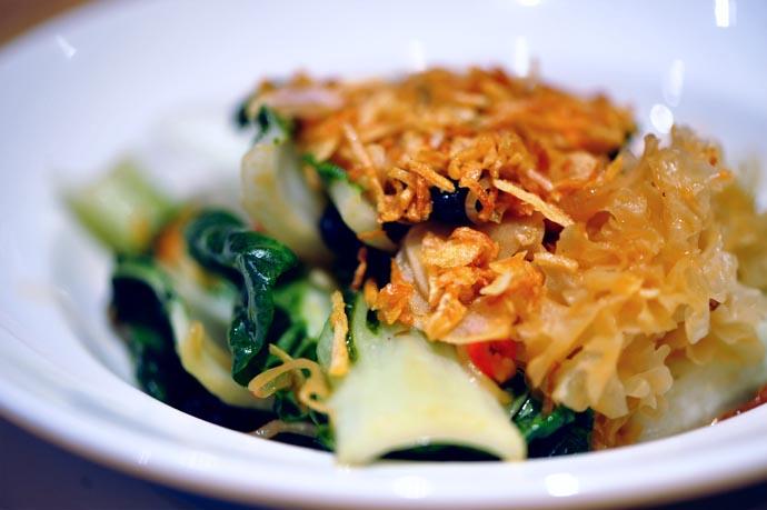 Bok Choy at Momofuku Noodle Bar