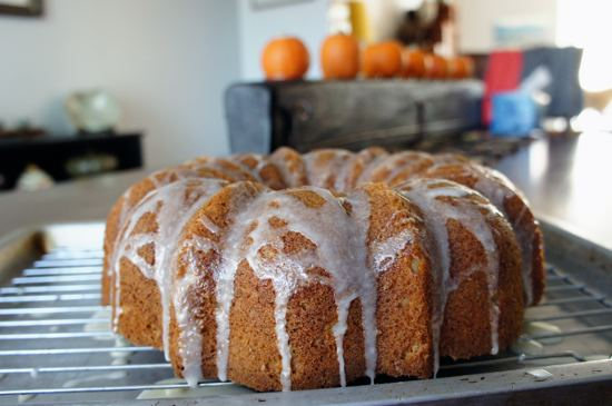 Subliminally pumpkin spice Bundt.