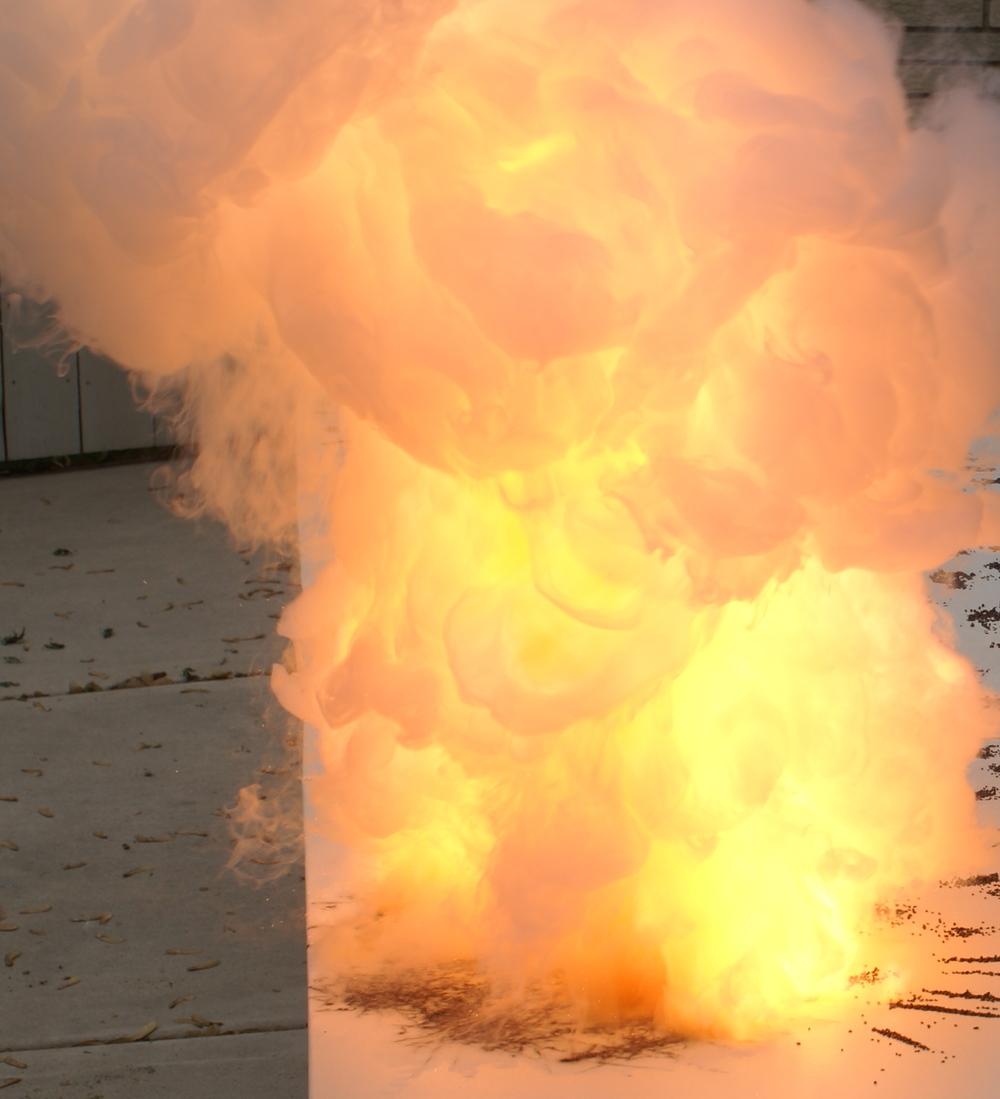 Stick Vega explosion event.