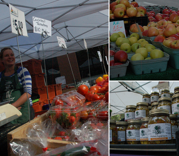 Photos of City Market taken by 8 year old Sevryn Frey.