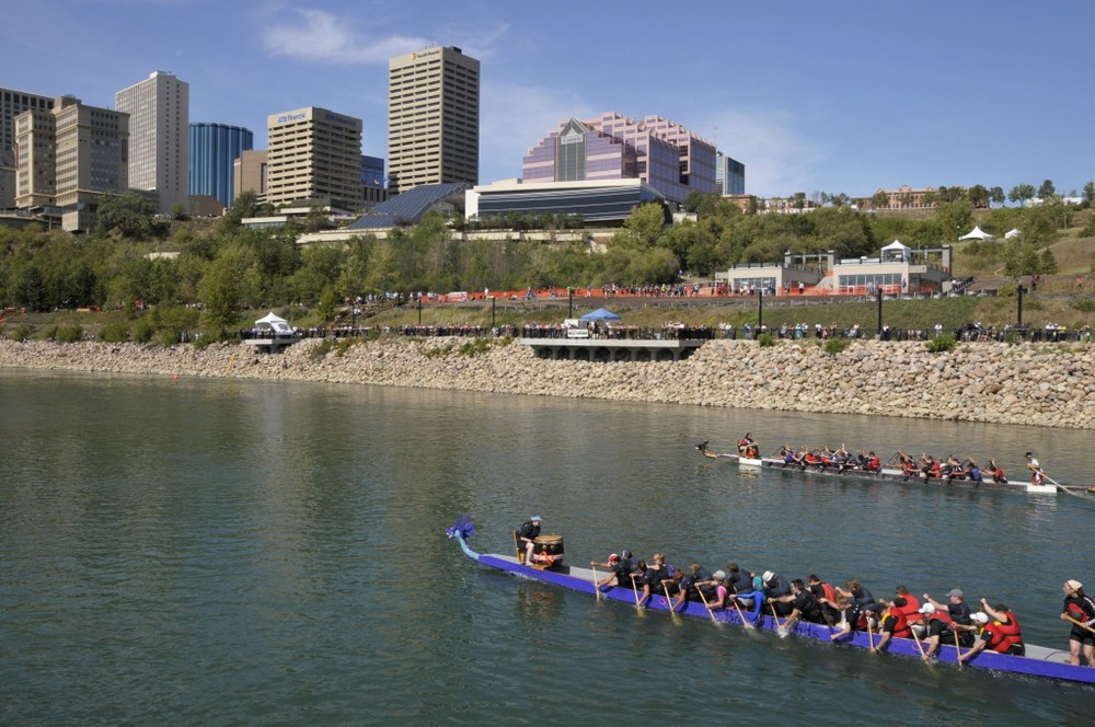Edmonton Dragon Boat Festival image spotted here.