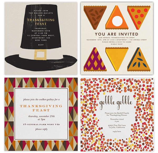 It's not too late to send out the most delightful email invites from Paperless Post. These designer e-vites even come with a little envelope to open!