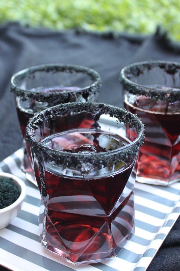 Black Licorice Cocktail via CamilleStyles.com