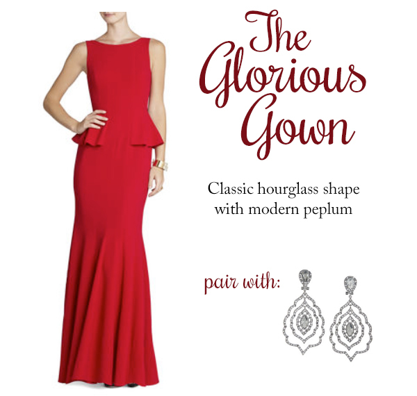 Dress and Earrings from BCBG Max Azria