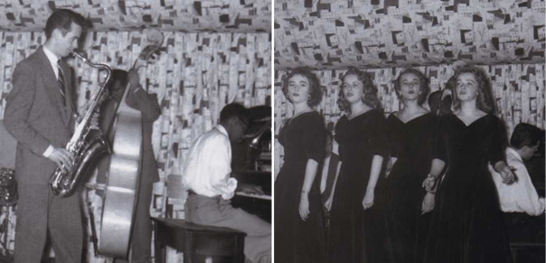 Original Yardbird Suite photos from their archives