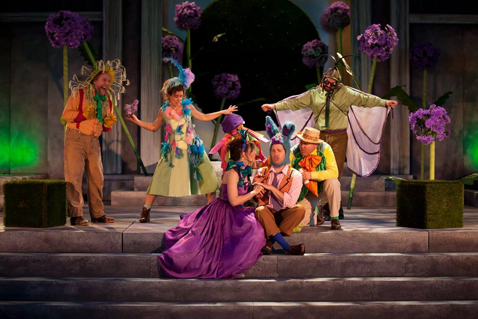 Freewill Shakespeare Festival is at Myer Horowitz Theatre until July 27. A scene from last year via their Facebook Page
