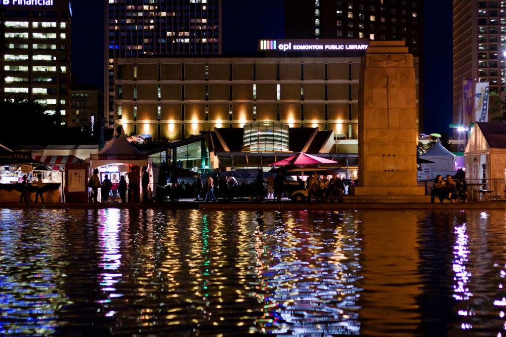 Taste of Edmonton kicks off this weekend! Image via Taste of Edmonton