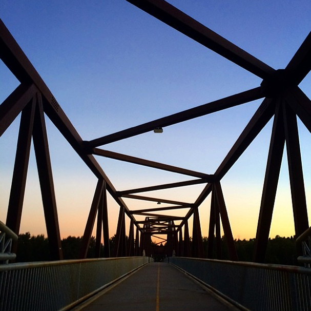 Awesome sunset shot by Katie Killingsworth