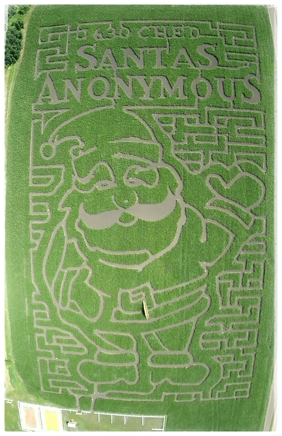 You might want to memorize this. This year's Edmonton Corn Maze!