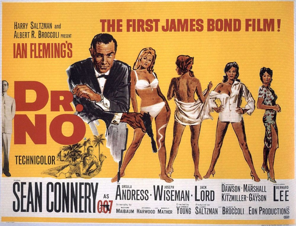 Dr. No, the film that launched the series.