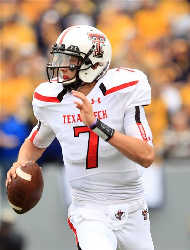 Davis Webb showed out in the Holiday Bowl.
