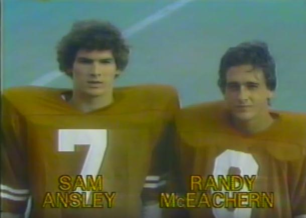 UT's quarterback duo.
