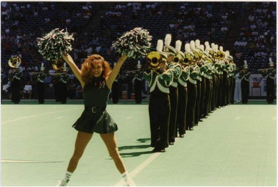 UNT played a few home games at Texas Stadium.