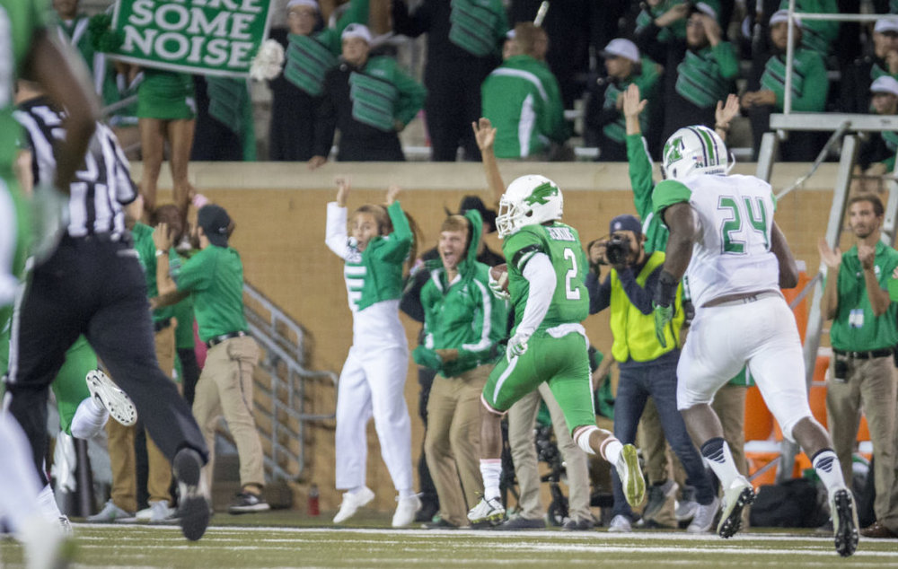 North Texas DB Eric Jenkins