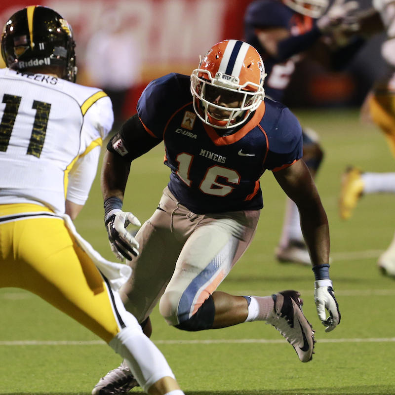 Alvin Jones  (UTEP Athletics)
