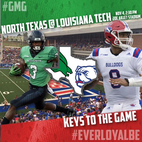 Keys To The Game North Texas At Louisiana Tech The Swc Round Up