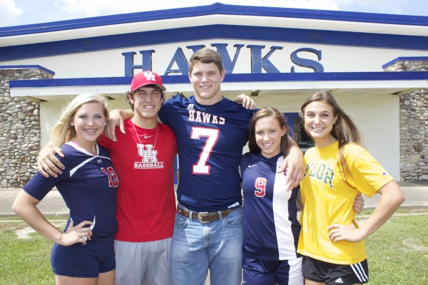 Padgett, center, with his siblings and cousins.