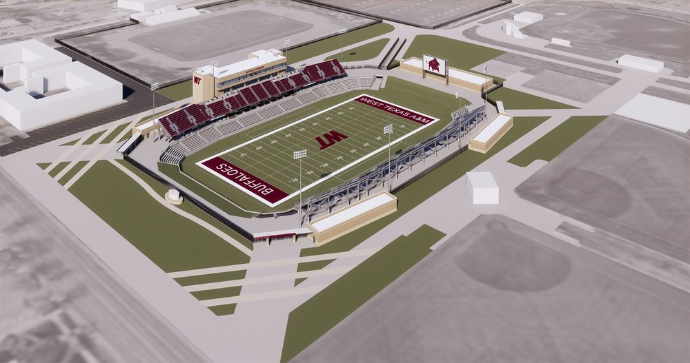 West Texas A M To Open New Stadium In 2019 The Swc Round Up