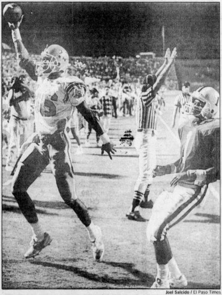 Miners and Aggies in '89.