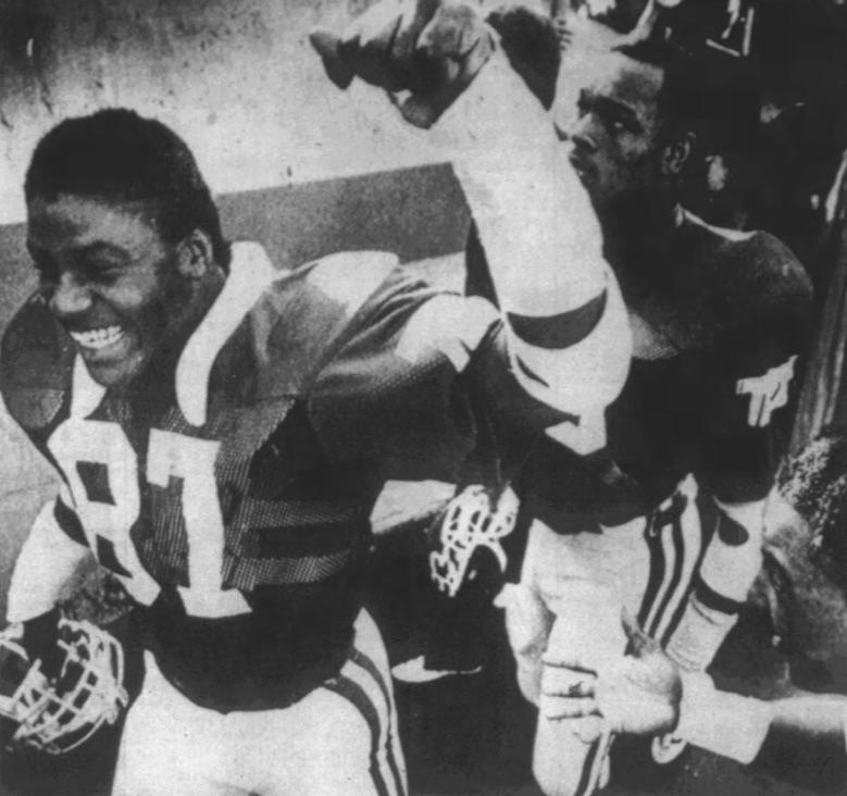 TCU celebration in 1983. ( Austin American Statesman )
