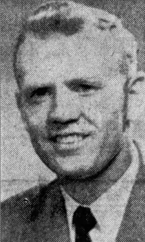 Bill Yeoman in 1961.