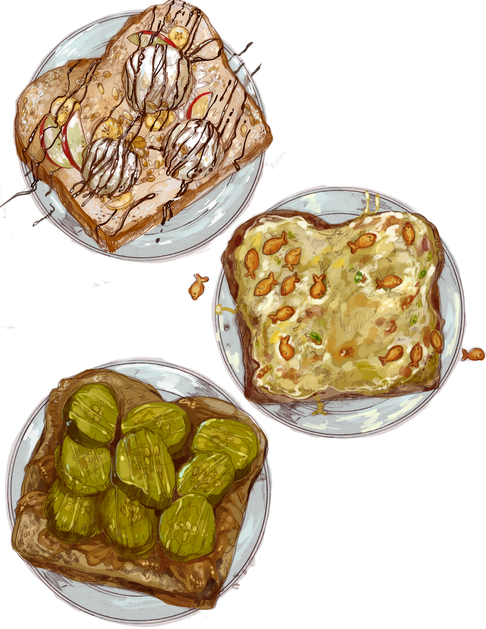 Sandwiches My Friends Eat