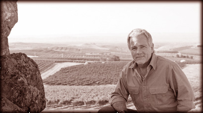 Jim at Elephant Mountain Vineyard.